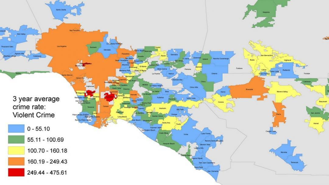 Violent Crime Map